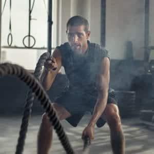 חבל ניעור 9.1 מטר – Battle Rope