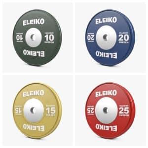 Eleiko IWF Weightlifting Training Disc – 10-25KG
