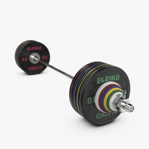 Eleiko Performance Set – 185/190KG, black