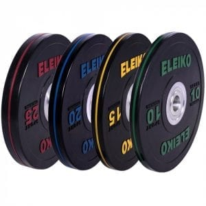 Eleiko Sport Training Disc, Black – 10-25KG