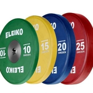 Eleiko IWF Weightlifting Competition Disc – 10-25KG