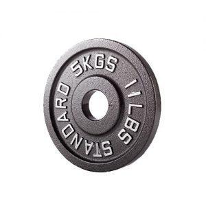 """צלחת מתכת אולימפית – 5 ק""""ג"""